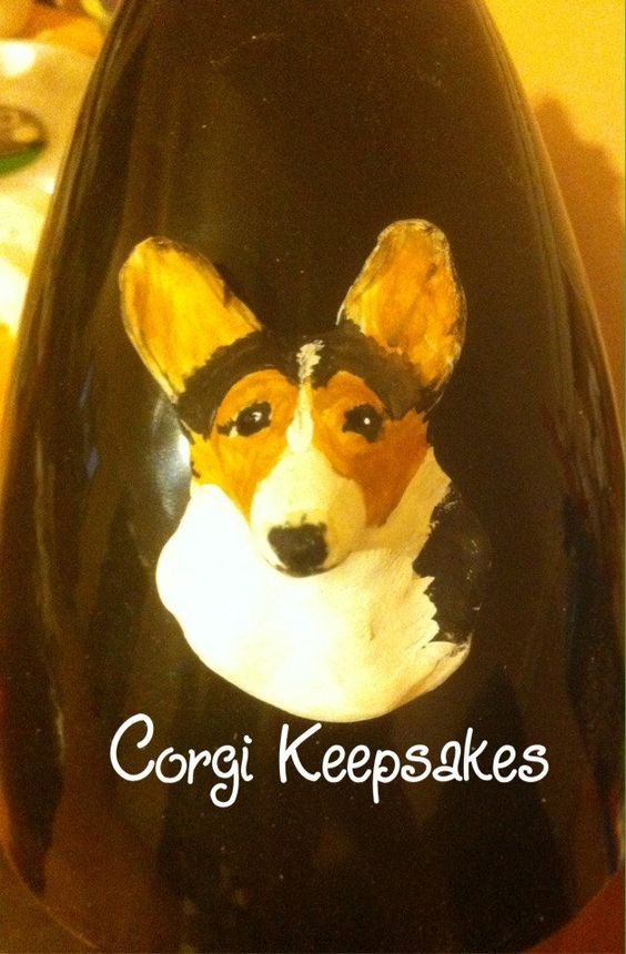 Corgi magnet! A personal favorite from my Etsy shop