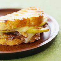 Grilled Cheese and Fruit Sandwich! I love   an awesome grilled cheese!