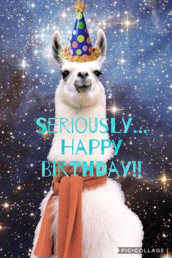 Seriously... Happy Birthday!!