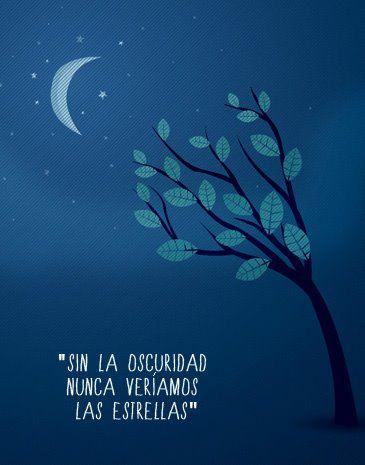 Sin la oscuridad nunca veríamos las estrellas