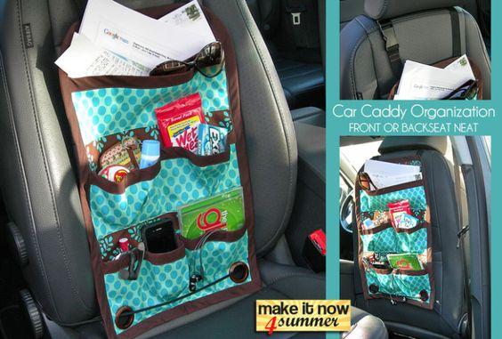 Hängeutensilo für das Auto nähen/Sewing Car-Organizer