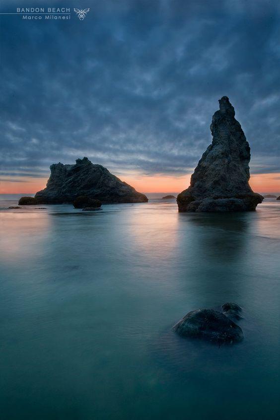 Bandon Beach by Marco Milanesi, via 500px