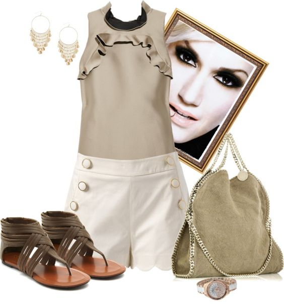 """What time is it!"" by johnna-cameron on Polyvore"