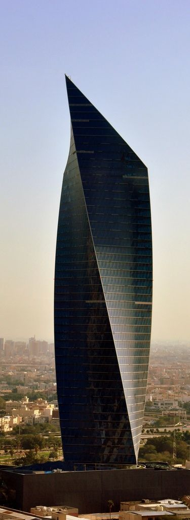 Al Tijaria Tower, Kuwait Trade Center, Kuwait by Al Jazera Consultants :: 41 floors, height 218m: