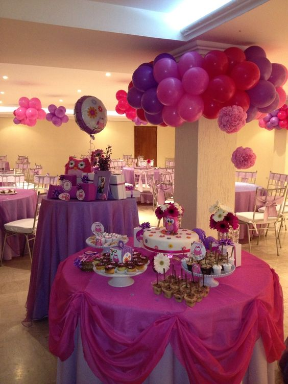Búho baby shower
