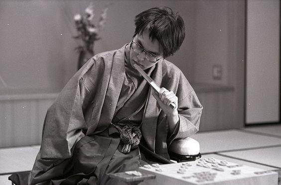 若かりし頃の羽生善治のかっこいい画像