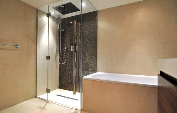 I want a shower like this for my renovated bath.