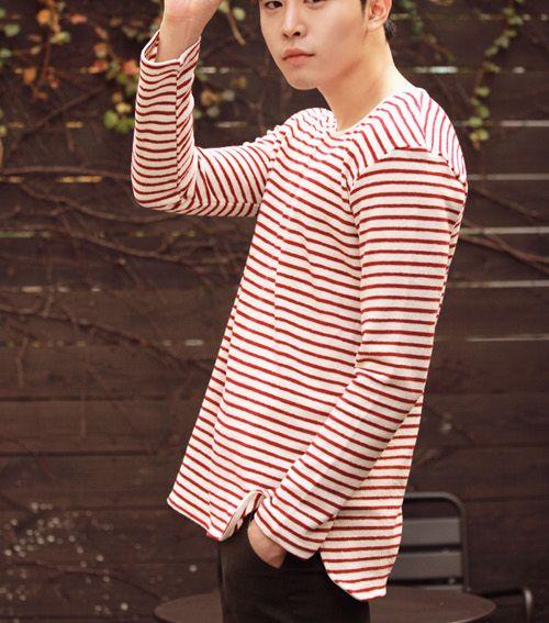 [Jogun Shop] Basic Striped Sweater