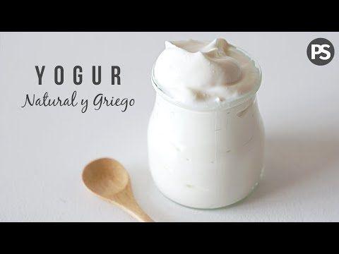 Yogurt Natural Con Sólo 2 Ingredientes Saludable Y Súper
