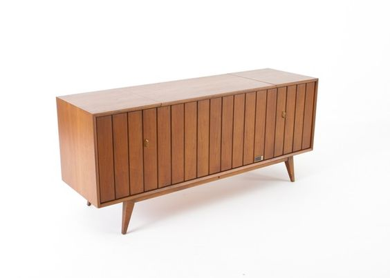 Zenith Record Player Stereo Console