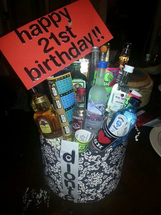 Great idea birthday gift for boyfriend 21st birthday for Good presents to give your boyfriend