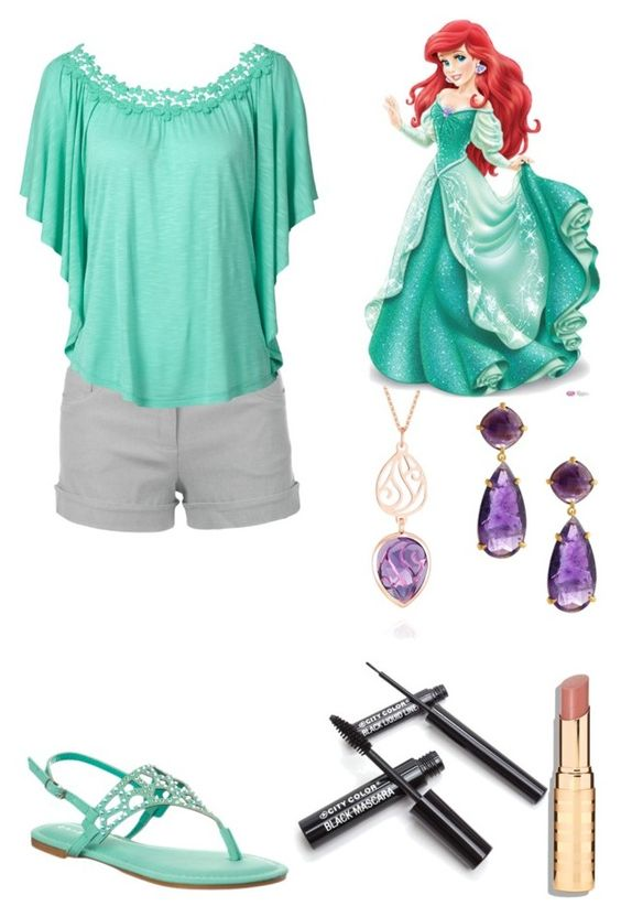 """Ariel"" by fairytale-reality ❤ liked on Polyvore featuring Perle De Lune, Candela, women's clothing, women, female, woman, misses and juniors"