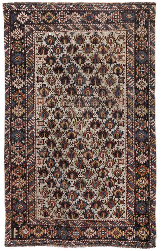 Tappeto caucasico Shirvan, fine XIX secolo from Cambi Casa d'Este