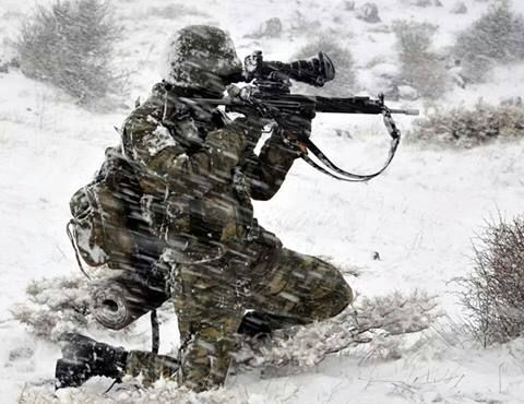 Turkish Special Forces Commando.