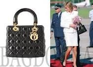 this bag made for Princess Dianna by Dior is timeless