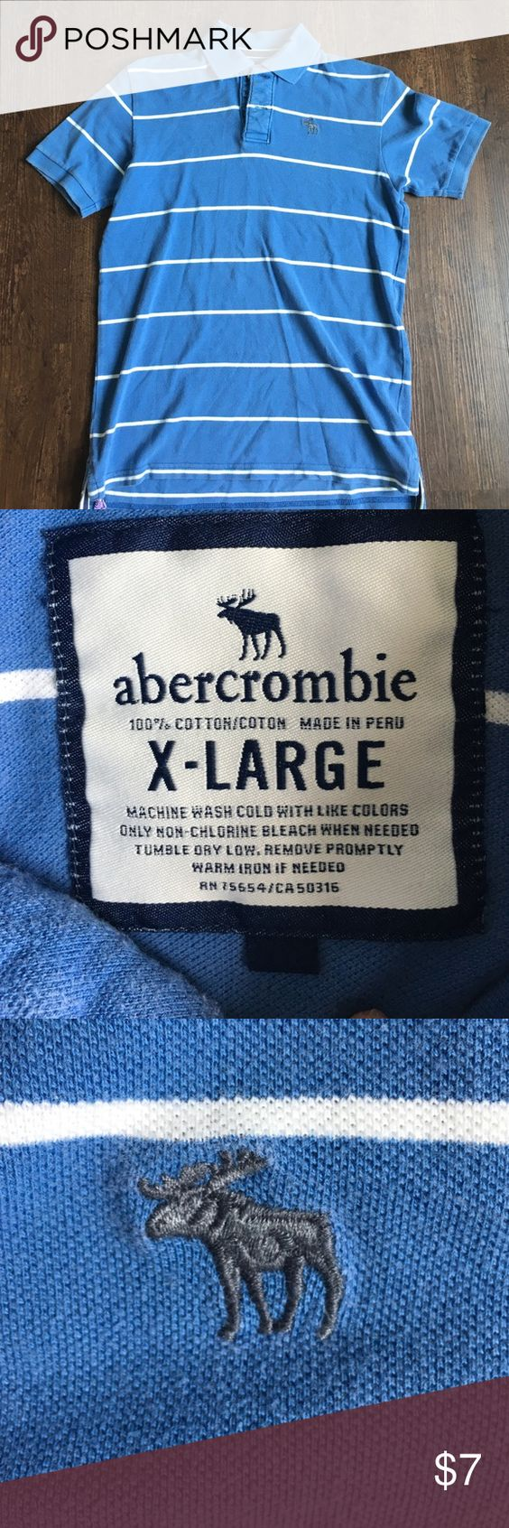 ABERCROMBIE & FITCH POLO TEE SHIRT ABERCROMBIE & FITCH POLO TEE SHIRT Abercrombie & Fitch Shirts & Tops Polos