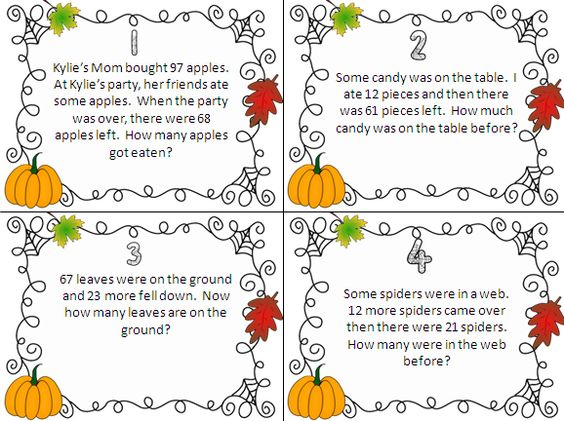 A great blog post about the different types of addition ...