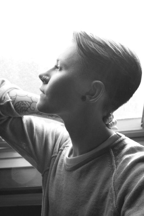 Photo by Francisca Tiemann #androgyny #tomboy #tattoo