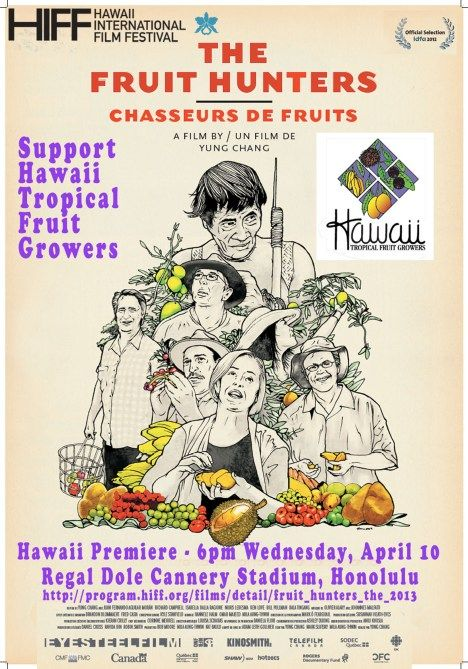 Fruit Hunters Poster what a great film