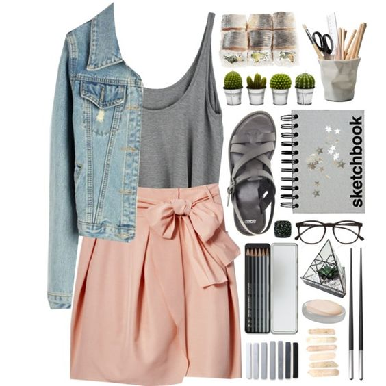A fashion look from April 2015 featuring ASOS sandals and Illesteva eyeglasses. Browse and shop related looks.
