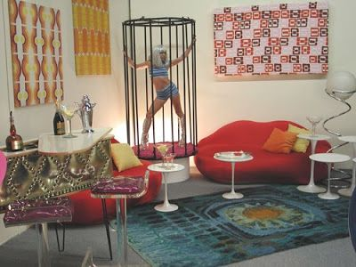 The Swinging 60 S Kevin Kelly Decor Retro Interior Austin Powers