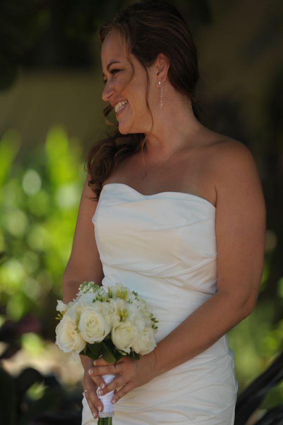 Beautiful bride in Maui, Hawaii.  Photo by Tad Craig Photography
