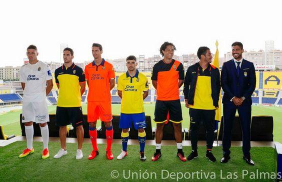 Ceci est le nouveau Maillot de foot Las Palmas pas cher pour la saison 2016/2017;: