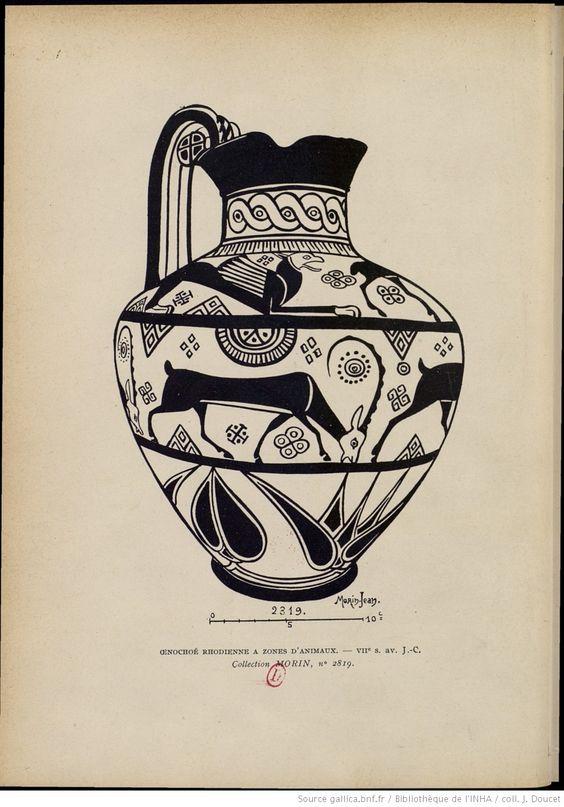 Le dessin des animaux en Grèce d'après les vases peints : essai sur les procédés des dessinateurs industriels dans l'antiquité / par Morin-Jean,... ; préface de Edmond Pottier,... | 1911