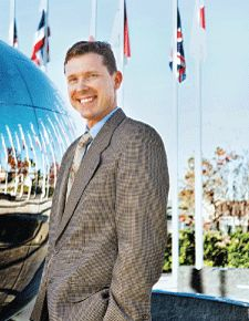 Read about Chapman University's Director of Special Events Guy Hinrichs on OrangeReview.com