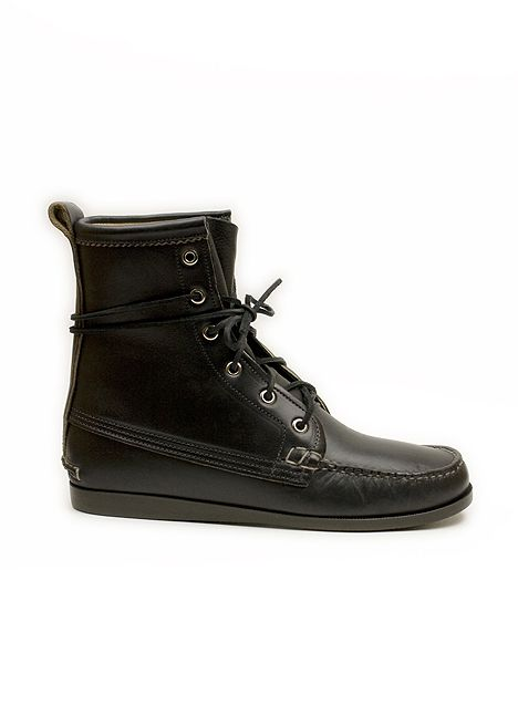 Quoddy, Deck Boot Black