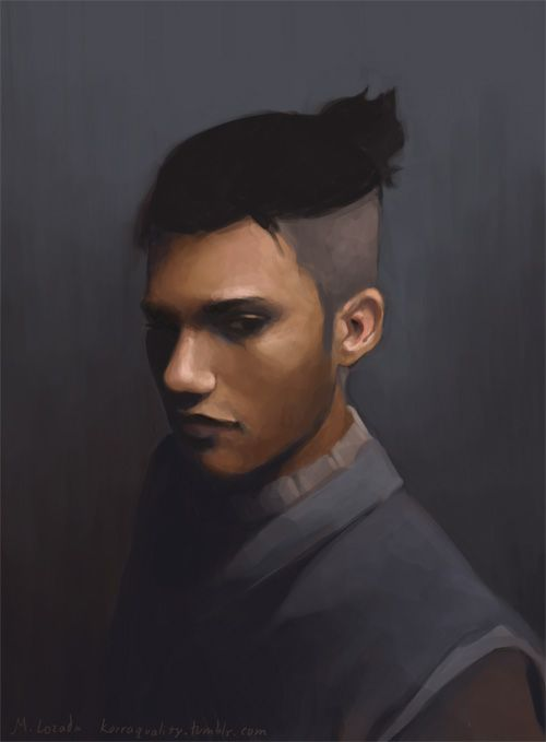 avatar and legend of korra realistic portraits sokka