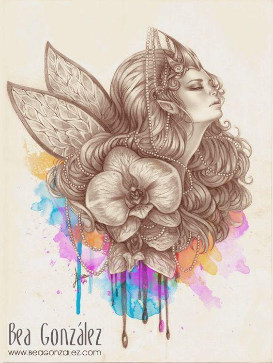 Panorama +Imagens da Internet 2: Ilustração Arte Digital por Bea gonzalez - Parte 1...