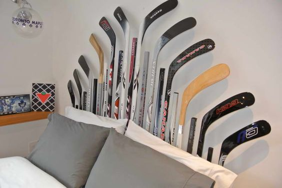 hockey stick decor | digital photography above, is segment of How to Do Diy Décor ...