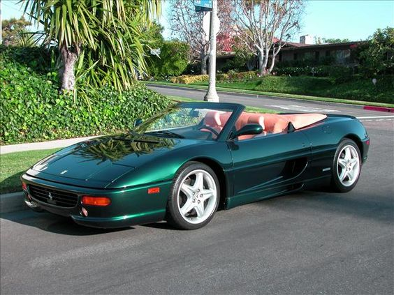 1997 ferrari f355 spider 6 speed price 64 995 compare. Black Bedroom Furniture Sets. Home Design Ideas