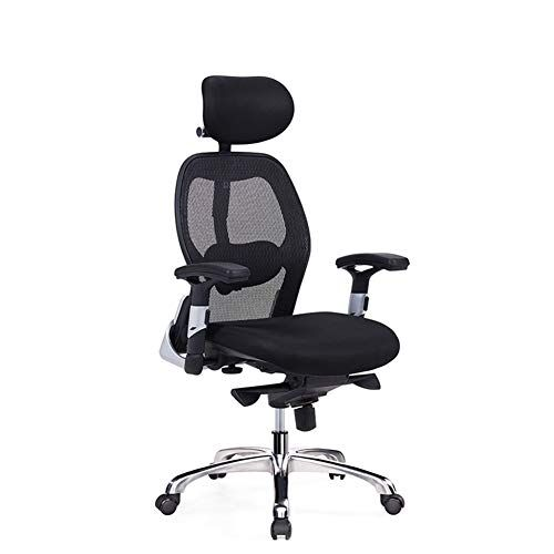 Ergonomic Adjustable Office Chair With Lumbar Support High Back