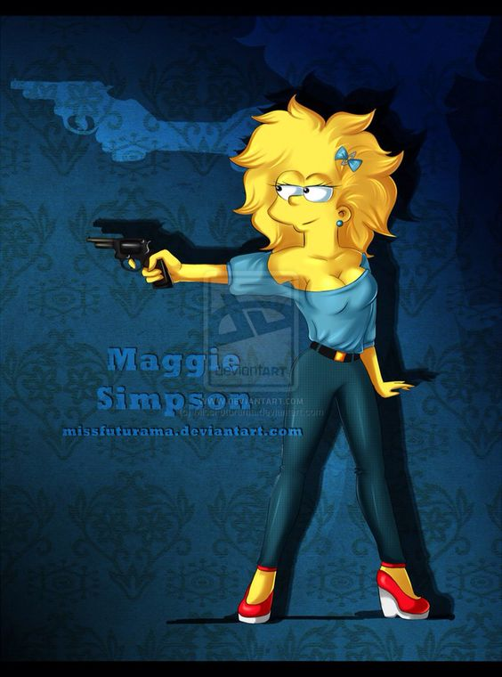 Maggie Simpson | Simpsons | Pinterest | The o'jays