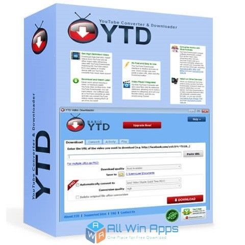 Ytd Video Downloader 2018 Review Youtube Youtube Videos Photoshop Plugins