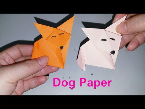 All Animal Paper - YouTube (With Images) Paper Dogs, How To Make