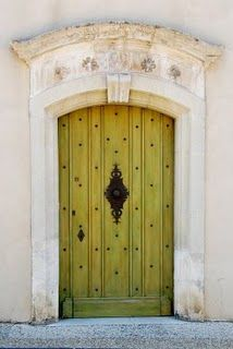 Is it possible to fall in love with a door?  -Gordes, Provence