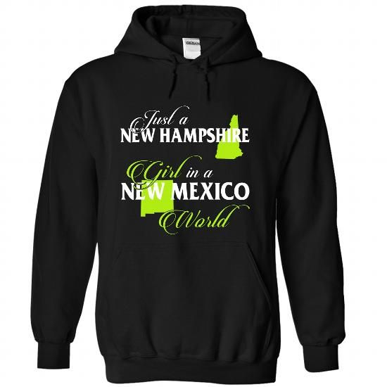 NEW HAMPSHIRE-NEW MEXICO girl 02Lime - #long sleeve t shirts #t shirt design website. TRY => https://www.sunfrog.com/States/NEW-HAMPSHIRE-2DNEW-MEXICO-girl-02Lime-Black-Hoodie.html?id=60505