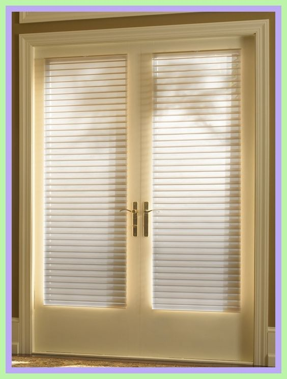58 Reference Of Front Door Window Blinds Home Depot In 2020 French Door Window Treatments French Door Coverings Door Coverings