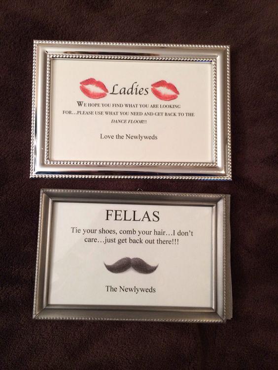 wedding bathroom basket sayings | hmmm 3 daughters maybe a wedding