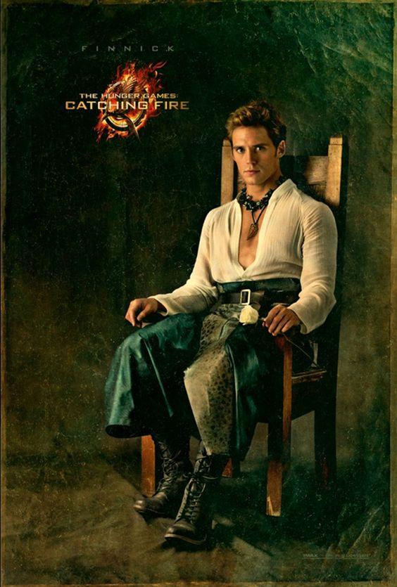 "Finnick Odair | ""Catching Fire"" Character Portraits Reveal A Very Fancy JenniferLawrence"