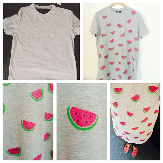 Cant find what you want? Then make it! £4 tshirt from primark + ...
