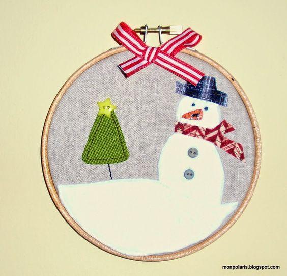 Muñeco nieve con sombrero
