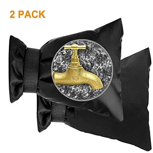 Homeya Outdoor Faucet Cover Sock 2 Pcs 420d Thicker Reusa Https Www Amazon Com Dp B07z7tccb5 Ref Cm Sw R Pi Dp In 2020 Winter Cold Weather Water Pipes Waterproof