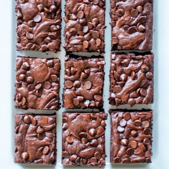 Best Ever One-Bowl Fudge Brownies are as easy to throw together as they are delicious. You'll never use a boxed mix again!