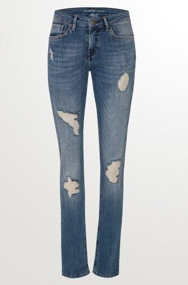 ORSAY JEANS | Slim destroyed Jeans #mywork #fashiondesigner #denim
