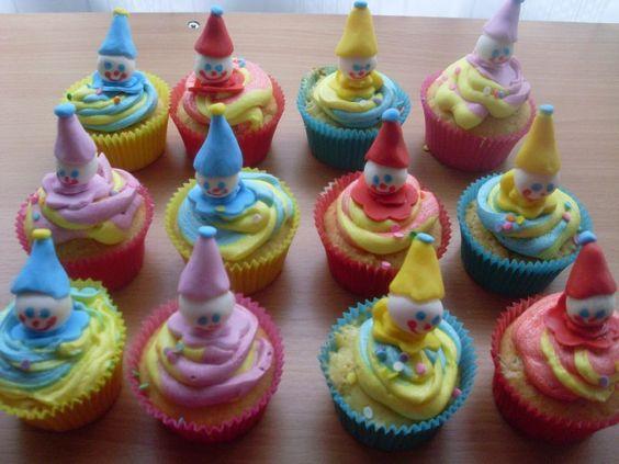 CupCakes pour un Carnaval d'école :-)