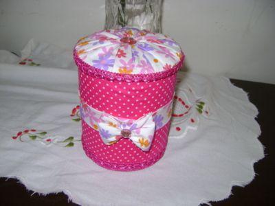 Blog de eukfiz :eukfiz, latinhas decoradas com tecido